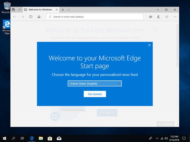 Microsoft Edge sẽ tự khởi động