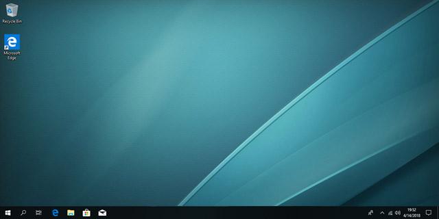 Desktop ởSpring Creators xuất hiệnicon Microsoft Edge