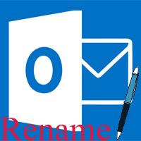 Hướng dẫn đổi tên hiển thị trong Outlook