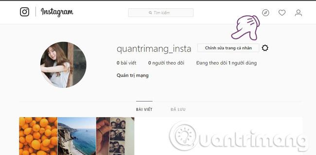 Cáchtải dữ liệu cá nhân trên Instagram