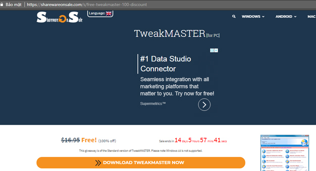 DOWNLOAD TWEAKMASTER NOW
