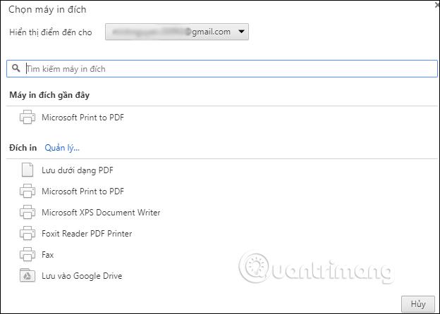 Cách in tài liệu trên Google Docs - Ảnh minh hoạ 3