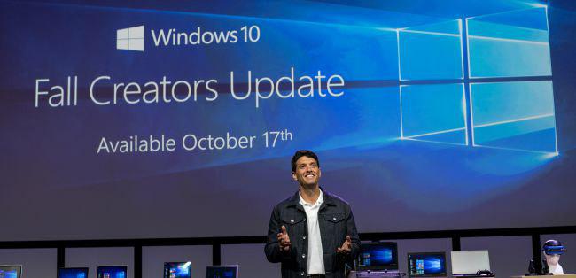 Ngày phát hành Fall Creator Update