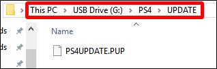 Tạo thư mục trong USB