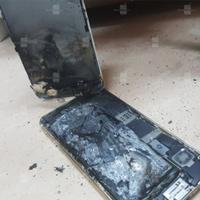 iPhone 6S bất ngờ phát nổ ngay trên bàn