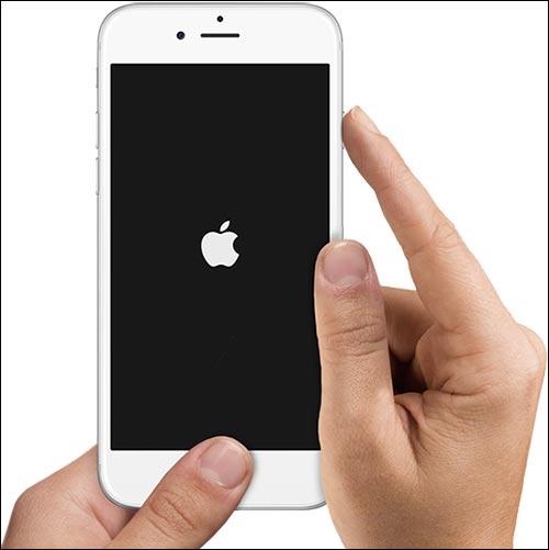 Khởi động lại iPhone 6