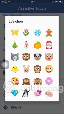 Chọn một icon bạn muốn thay thế cho biểu tượng mặc định của ứng dụng