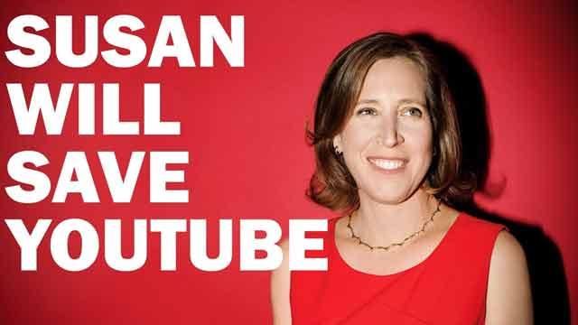 Susan Wojcicki người phụ nữ quyền lực nhất mạng Internet