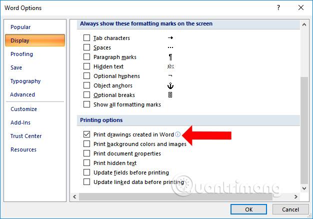 Cách sửa lỗi không in được ảnh trong Word - Ảnh minh hoạ 2