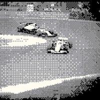 Đua xe thể thức 1 được ghi lại bằng camera của GameBoy độ phân giải 0.016MP sẽ thú vị như thế này đây