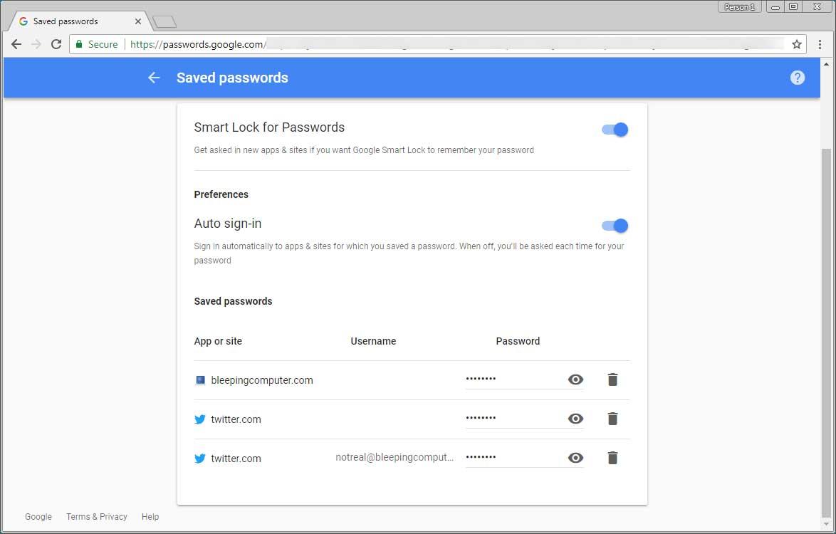 Cách dùng công cụ tạo mật khẩu Smart Lock của Chrome