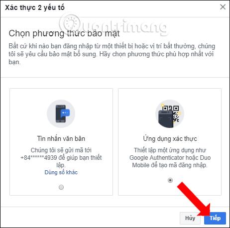 Hướng dẫn bảo mật 2 lớp Facebook - Ảnh minh hoạ 6