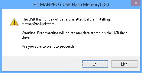 Tất cả nội dung các ổ đĩa flash sẽ được xóa