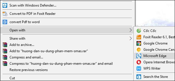 Cách tô màu tài liệu PDF trên Microsoft Edge