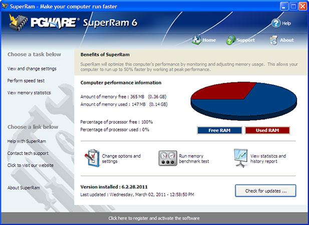 Top 5 phần mềm tối ưu RAM, tăng cường hiệu suất máy tính