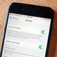 Tại sao biểu tượng pin iPhone màu vàng, cách sửa thế nào?