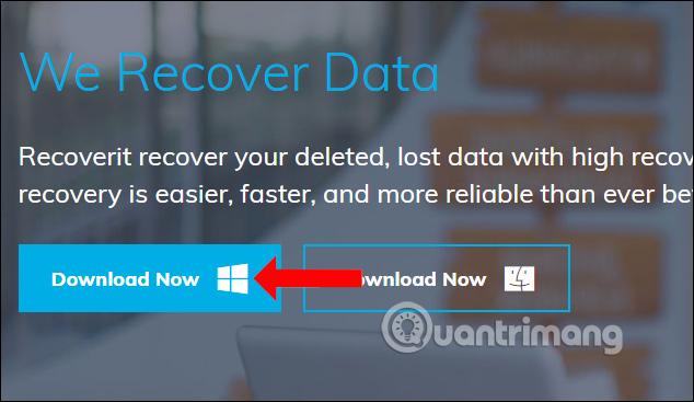 Cách dùng Recoverit khôi phục dữ liệu trên máy tính