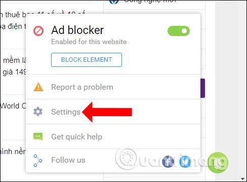 Cài đặt StopAd  Cách dùng StopAd chặn quảng cáo trên Windows