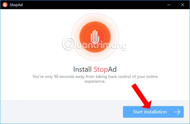 Cài đặt phần mềm StopAd Cách dùng StopAd chặn quảng cáo trên Windows