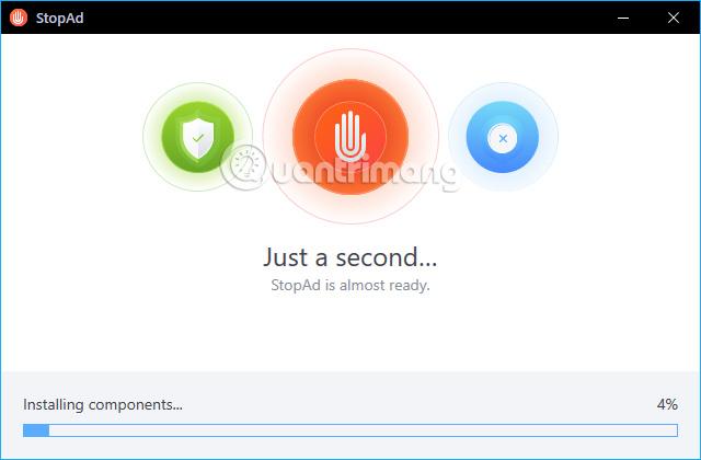 Quá trình cài đặt StopAd  Cách dùng StopAd chặn quảng cáo trên Windows