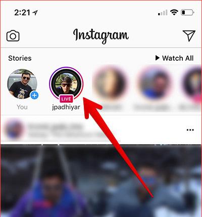 Cách gửi video live Instagram trực tiếp cho bạn bè trên iPhone - Ảnh minh hoạ 4