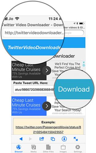 Cách tải video trên Twitter về iPhone - Ảnh minh hoạ 5