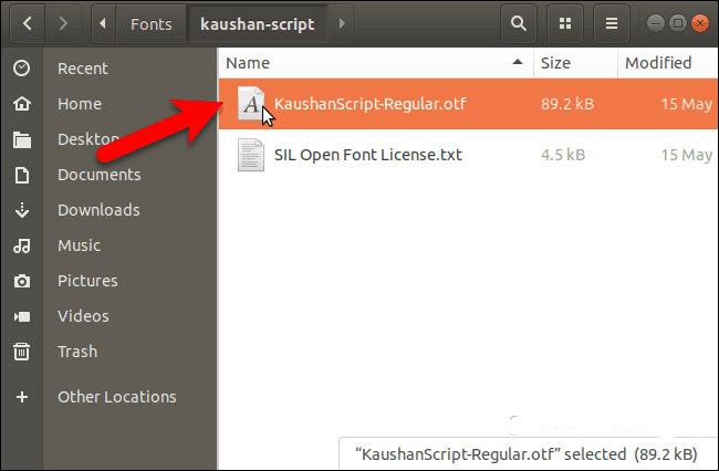 Cách cài đặt và xóa bỏ font chữ trên Linux - Ảnh minh hoạ 2