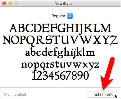 Cách cài đặt và xóa bỏ font chữ trên Mac - Ảnh minh hoạ 2