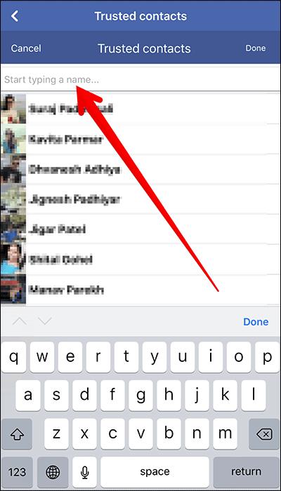 Cách thêm bạn bè tin cậy vào Facebook trên iPhone, Android - Ảnh minh hoạ 7