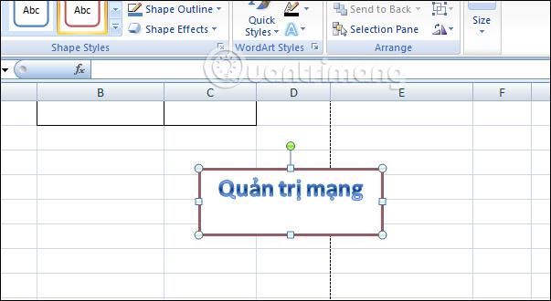 Cách tạo Text Box trong Excel - Ảnh minh hoạ 4