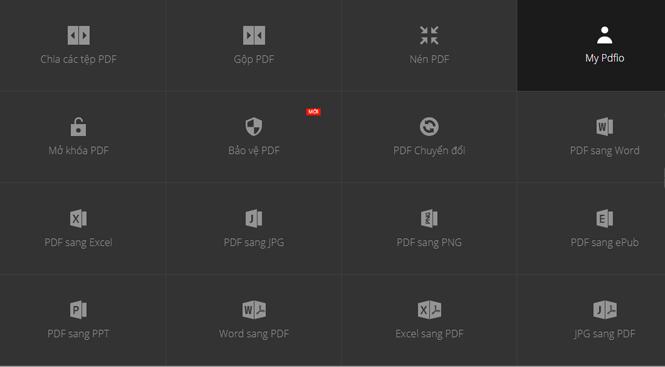PDFio.co - Dịch vụ tạo, bảo vệ, chuyển đổi PDF,… trực tuyến, hỗ trợ tiếng Việt, miễn phí trên nhiều thiết bị