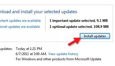Gói ngôn ngữ trong Download & Install