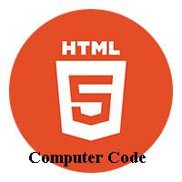 Phần tử mã máy tính trong HTML