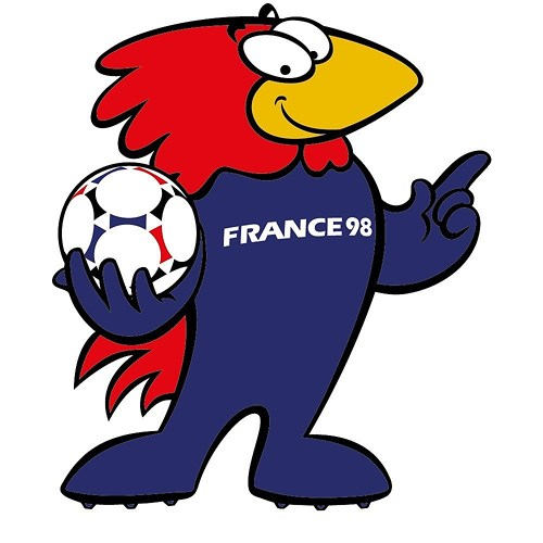 World Cup 1998 - Footix