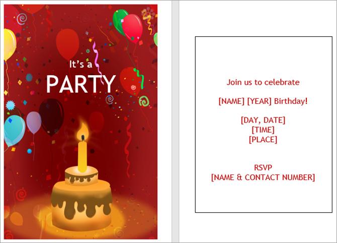 13 mẫu thiệp mời sự kiện tuyệt đẹp trong Microsoft Word - Ảnh minh hoạ 6