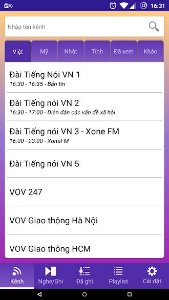 Nghe radio, ghi âm radio94rec 1