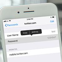 Cách chia sẻ mật khẩu trên iPhone/iPad bằng AirDrop