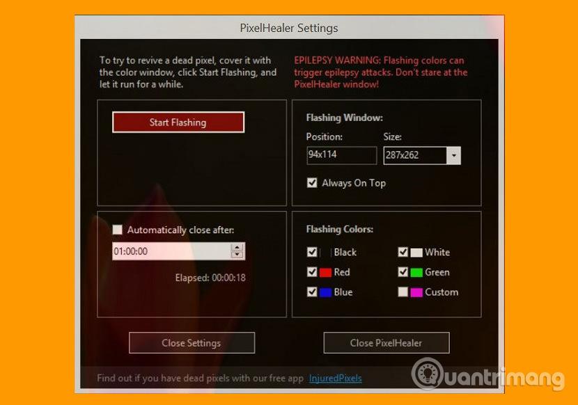 Công cụ PixelHealer