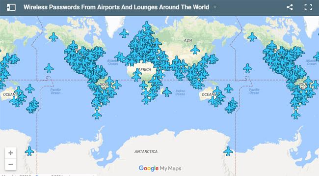 Wifi miễn phí ở sân bay