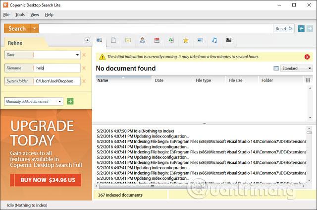 Phần mềm Copernic Desktop Search