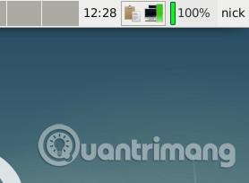 Applet theo dõi pin trên Linux