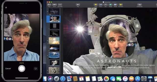 Cách sử dụng Continuity Camera trên MacOS Mojave và iOS 12