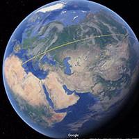 Google Earth giờ có thể đo khoảng cách và diện tích ở bất kì đâu
