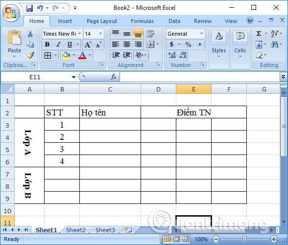 Cách xoay chữ trong Excel - Ảnh minh hoạ 3