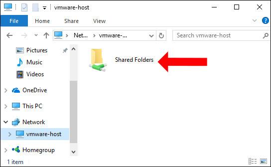 Thư mục lưu dữ liệu chia sẻ