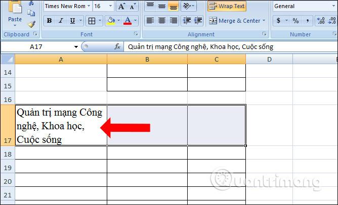 Cách căn đều chữ trong ô trên Excel - Ảnh minh hoạ 2