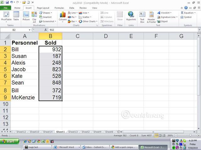 Cách tạo Progress bar bằng định dạng có điều kiện trong Excel 2013, 2010 và 2007 - Ảnh minh hoạ 9