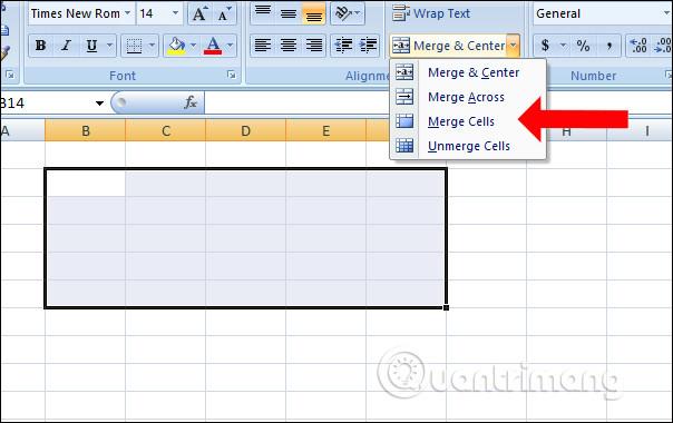 Cách gộp nhiều ô thành 1 trên Excel không mất dữ liệu - Ảnh minh hoạ 4