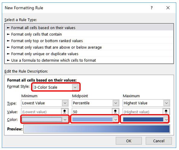 Cách sử dụng định dạng có điều kiện trong Microsoft Excel 2016 - Ảnh minh hoạ 11