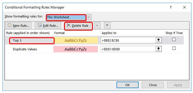 Cách sử dụng định dạng có điều kiện trong Microsoft Excel 2016 - Ảnh minh hoạ 23